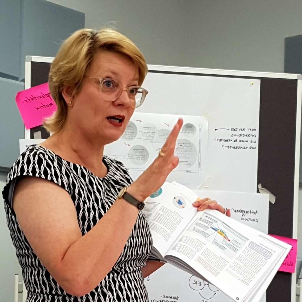 Katharina Ibrahim im Seminar